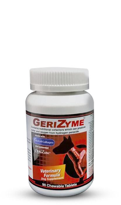 GeriZyme for pet hip dysplasia and arthritis